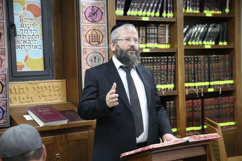 הרב ראם ראש המוסדות